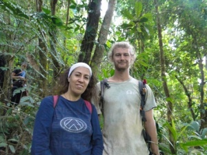 Mariliana - Base Manager and Frank - Mentor of interns (researchers) both work out of the GVI Caribbean location Jalova.
