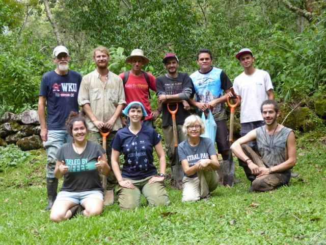 Some of the participants of the Community Tree Planting event.