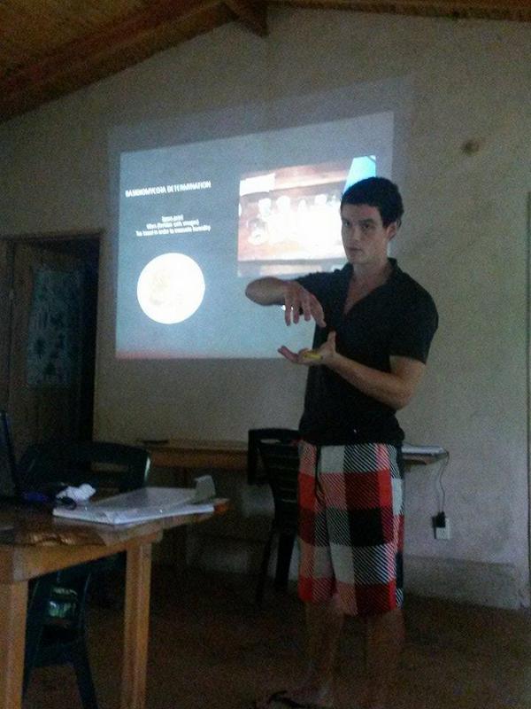 Baptiste's presentation