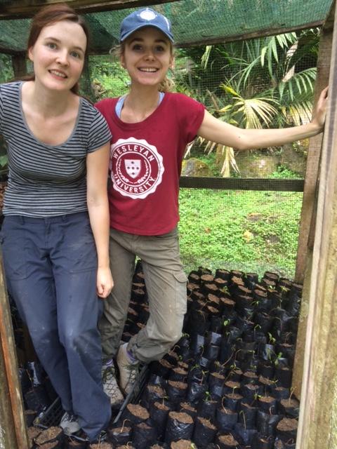 Emma Moore and Katarina